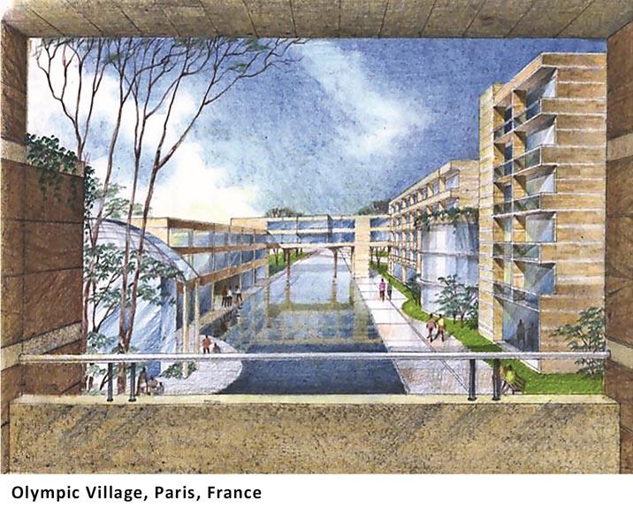 Olympic Village, Paris, France