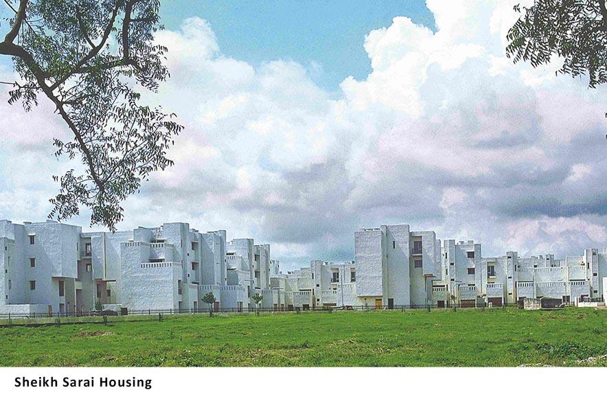 Sheikh Sarai Housing, New Delhi, India