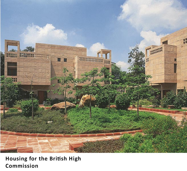 Housing for British High Commission